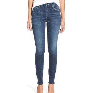rag & bone Mid-Rise Skinny Jeans Clean Euston